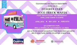 100 Food Trucks In Sacramento CollegeGlen Truck Mania April 18th CollegeGlen Real