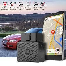 100 Truck Tracking Gps AGPtek GSM GPRS Mini OBD II Vehicle Car GPS Tracker Realtime