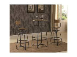 182003 Industrial Pub Table Set For Two By Coaster At Value City Furniture
