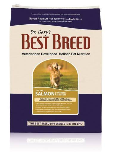 Dr. Gary's Best Breed Holistic Salmon with Vegetables & Herbs Dry Dog Food 15-lb
