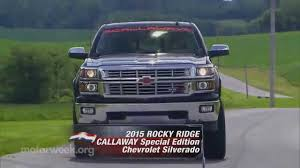 MotorWeek | Road Test: Rocky Ridge Callaway Special Edition ... Lifted Ford F150 K2 Package Truck Rocky Ridge Trucks For Sale In Virginia Antelope Valley Titan Nissan Dealer Serving Richardson Dallas 2018 Chevy Gentilini Chevrolet Woodbine Nj Altitude Somethin Bout A Truck Blog Archives Silverado Altitude Luxury
