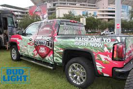 Buccaneers Sideline VIP Experience By Bud Light - Pepin Distributing Bud Light Sterling Acterra Truck A Photo On Flickriver Teams Up With The Pladelphia Eagles For Super Promotion Lil Jon Prefers Orange And Other Revelations From Beer Truck Stuck Near Super Bowl 50 Medium Duty Work Info Tesla Driver Fits 1920 Cans Of In Model X Runs Into Bud Light Budweiser Youtube Miami Beach Guillaume Capron Flickr Page Everysckphoto 2016 Series Truckset Cws15 Ad Racing Designs Rare Vintage Bud Budweiser Delivers Semi Sign Tin Metal As Soon As I Saw This Knew Had T