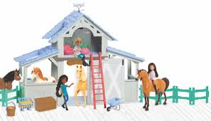 DreamWorks Spirit Riding Free Barn Playset - Toys