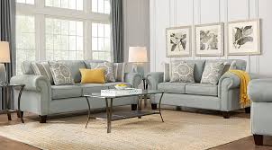 Pennington Blue 7 Pc Living Room Living Room Sets Blue