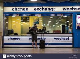 bureau de change dublin airport airport departure lounge arrivals stock photos airport departure