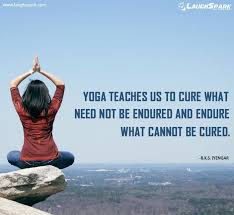 Yoga Teaches Us To Cure
