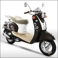 ZNEN MOTOR Skooter 50cc Smart Mopeds Are Repairable Motorcycles In Scooter Shop