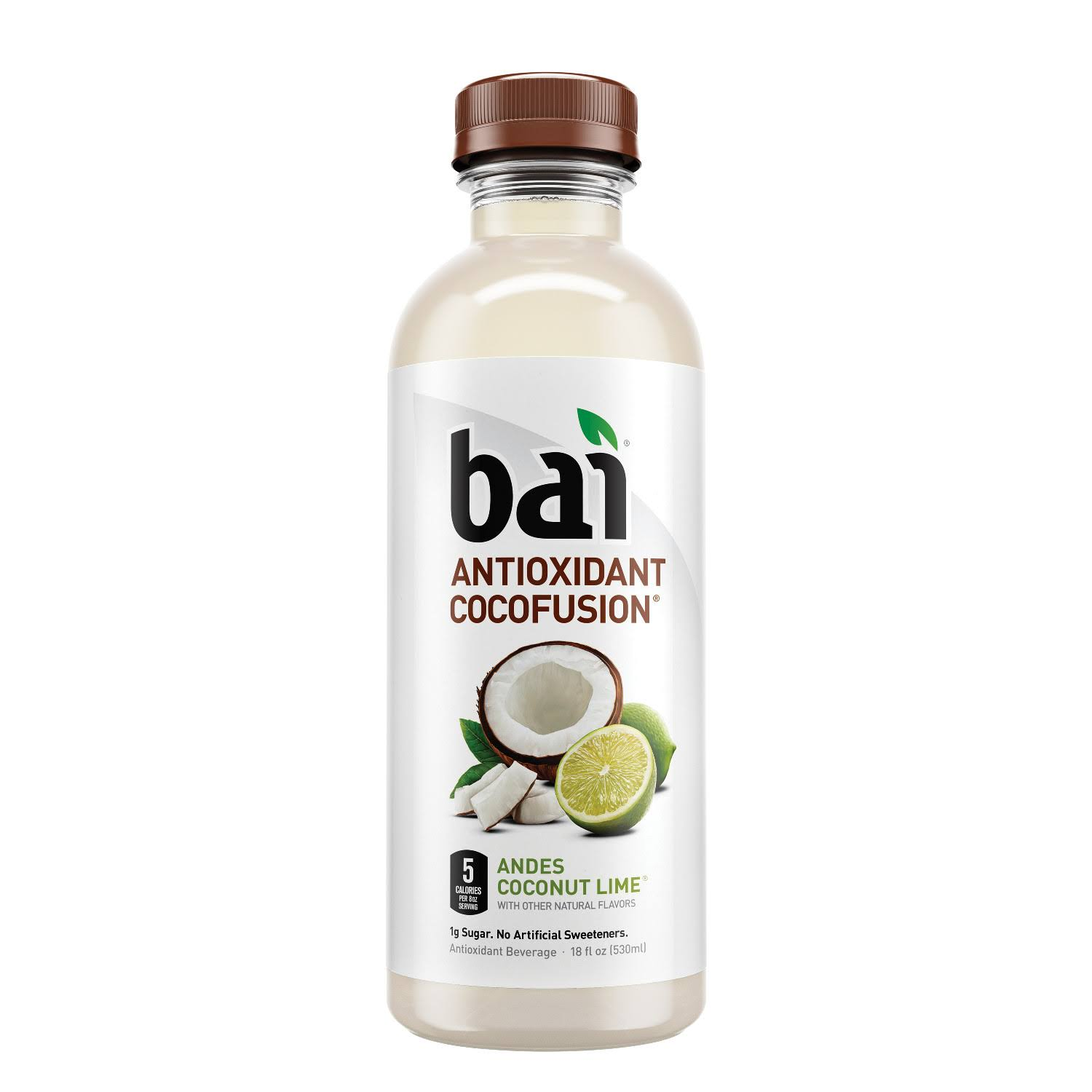 Bai Antioxidant Cocofusion Andes Coconut Lime Antioxidant Beverage