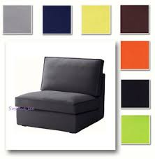 custom made cover fits ikea kivik one seat section replace chair