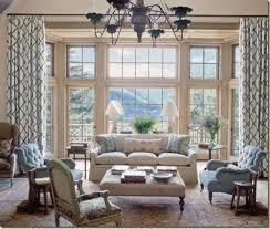 light blue and tan living room interior design