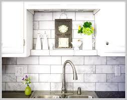 white cabinets kitchen tile backsplash home design ideas