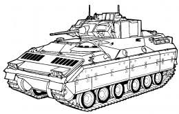 Army Tracked Vehicles Coloring Pages Free Colouring Pictures To Print