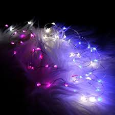 50pcs lot 5m 50leds 3aa battery operated mini micro led lights