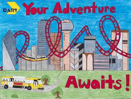 Dallas Student Wins DART Poster Contest