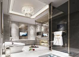bilder zum moderne luxus badezimmer renderings download
