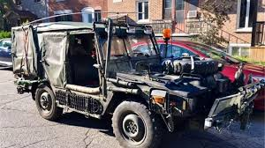 100 Chevy Military Trucks For Sale Find Of The Week 1985 Bombardier Iltis AutoTRADERca