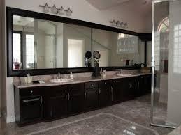 Double Vanity Bathroom Mirror Ideas by Large Bathroom Mirrors Decorating Ideas Regarding Vanity Design