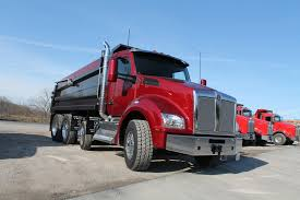 Kenworth T880 Dump Truck - Fleet Management - Trucking Info