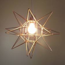 Geometric Moravian Star Light