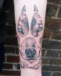 Arm Wolf Claw Tattoo