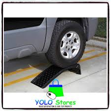 100 Heavy Duty Truck Service Ramps Solid Steel Set Car Vehicle Repairs Auto