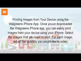 Can I Print s From My Phone At Walgreens
