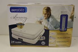 Aerobed Queen Air Bed With Headboard by Aerobed Comfort Anywhere 18 Queen Air Mattress With Headboard