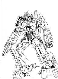 Printable Transformers Coloring Pages For Kids Animated Bumblebee Superhero