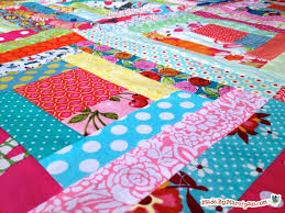 Sew A Log Cabin Quilt Block Made By Marzipan