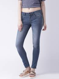 buy moda rapido women blue skinny fit stretchable jeans jeans