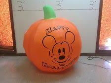 Disney Halloween Airblown Inflatables by Gemmy Prototype Airblown Inflatable Halloween Disney Tigger