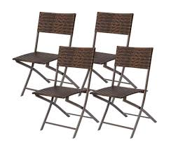 KIMSAI SAI Outdoor Folding Patio Chairs PE Wicker Rattan ... Folding Chair Oversized Lawn Chairs Useful Patio Home Decor By Coppercreekgroup Details About Zero Gravity Case Of 2 Lounge Outdoor Yard Beach Gray Agha Interiors Amazoncom Ljxj Bamboo Chaise 3 Pcs Bistro Set Garden Backyard Table 6 Pcs Fniture With An Umbrella Teak And Teakwood Cadian Pair Wooden Bolero Steel Classic Black Pack Of Foldable Walmart N Grupoevoco