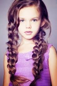 Summer Hairstyle For A Little Girl Braids