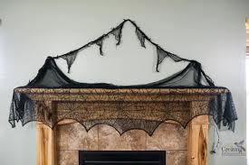 Halloween Fireplace Mantel Scarf by Halloween Fireplace Mantel Ideas Decor For Mantels Of All Colors