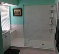 kera bath shower inc tile versus cultured marble cultured