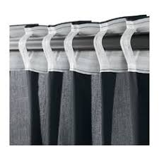 syssan curtains 1 pair ikea linen gives the fabric a natural