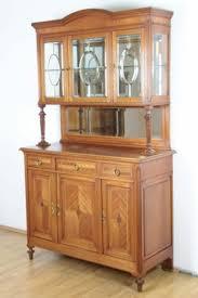 antikes buffet louis seize anrichte vitrine eiche esszimmer spiegel parkett