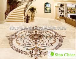 Luxury Building Material Marble Inlay Italian Flooring Design