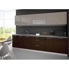 acheter cuisine complete cuisine complète 3m tarn bicolore cappuccino chocolat achat