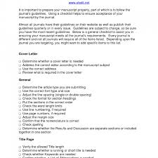 Cover Letter For Poetry Submission Cover Letter Manuscript