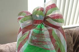 How To Make A Deco Mesh Bow Easiest Ever
