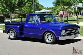 100 Chevy Stepside Truck For Sale 1967 Custom 1967 C10 Pickup