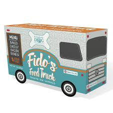 100 Treats Truck Amazoncom Exclusively Pet 9000 Fidos Food Dog