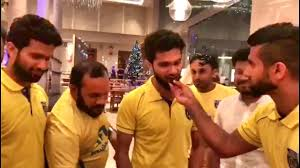 Kerala Blasters Player Mohammed Rafi Birthday celebration With