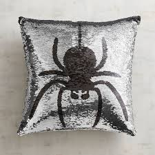 pier 1 imports spider bat reversible sequined mermaid pillow