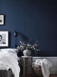 bleu chambre des idées déco pour une chambre bleu marine joli place