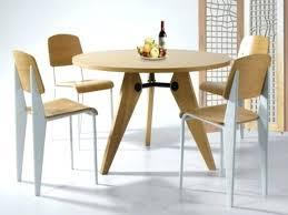 table cuisine moderne design table de cuisine design cool optez pour la table ronde de design