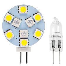 g4 led bulb dual color bi pin led disc 132 lumens boat rv