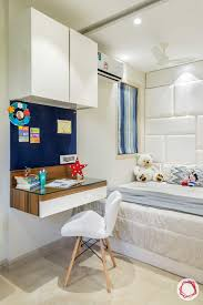 100 Home Interior Ideas Interiors Ghatkopar East_sons Room Study Table