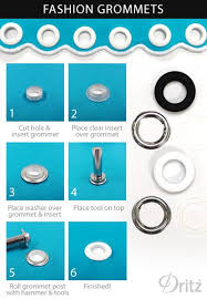 Dritz Home Curtain Grommets Instructions by 75 Best Grommets Grommets Images On Pinterest Sewing Projects